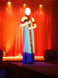B2L Créations - Couture et retouches sur Rouen - Robe de spectacle transformisme cabaret