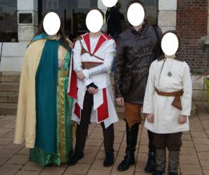 B2L Créations - Couture et retouches sur Rouen - Déguisements inspirations médiévale / Assassin's Creed