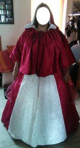 B2L Créations - Couture et retouches sur Rouen - Robe de mariée médiévale