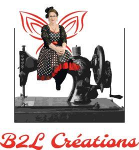 B2L Créations - Couture et retouches sur Rouen Couture et Retouches sur Rouen et ses environs - Logo