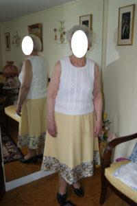 B2L Créations - Couture et retouches sur Rouen - retouche jupe