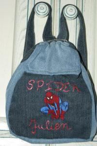 B2L Créations - Couture et retouches sur Rouen- Mini sac à dos Spider Man