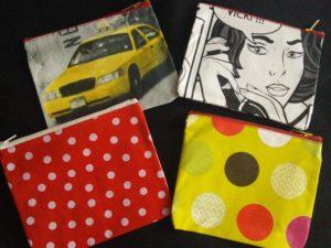 B2L Créations - Couture et retouches sur Rouen- pochette toile cirée