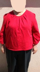 B2L Créations-Haut-rouge-molton