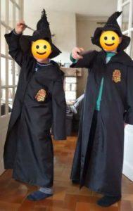 B2L Créations-cape Harry Potter