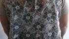 B2L Créations- teeshirt dos dentelle devant lycra beige