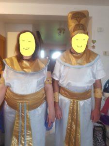 B2L Créations-Tenues égyptiennes adultes