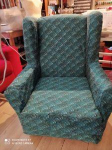 B2L Créations - Couture et retouches sur Rouen - housse de fauteuil
