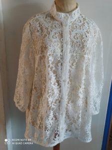 B2L Créations - Couture et retouches sur Rouen - chemise dentelle