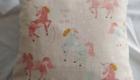 B2L Créations - Couture et retouches sur Rouen - Coussin licorne