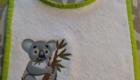 B2L Créations - Couture et retouches sur Rouen - Bavoir koala