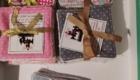 B2L Créations - Couture et retouches sur Rouen - Carré démaquillant en coton de bambou